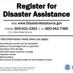 FEMA – Disaster Assistance Registration